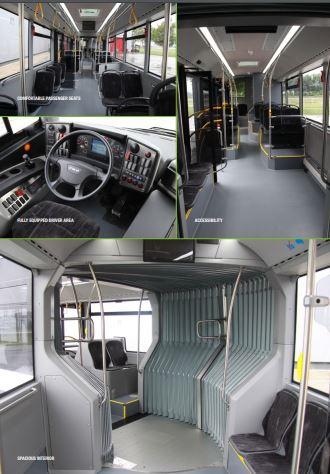 Cum ar putea arăta noile autobuze din București / GALERIE FOTO