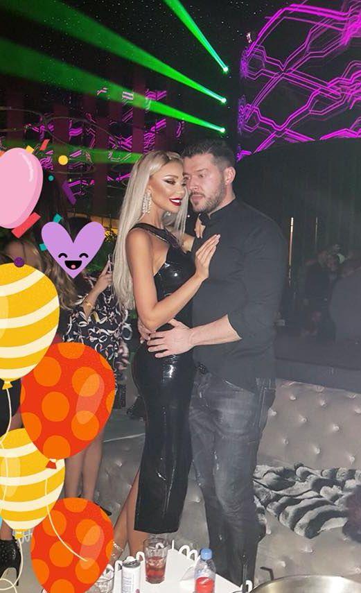 Victor Slav și Bianca Drăgușanu s-au distrat în club. Îmbrățișarea care spune tot despre relația lor