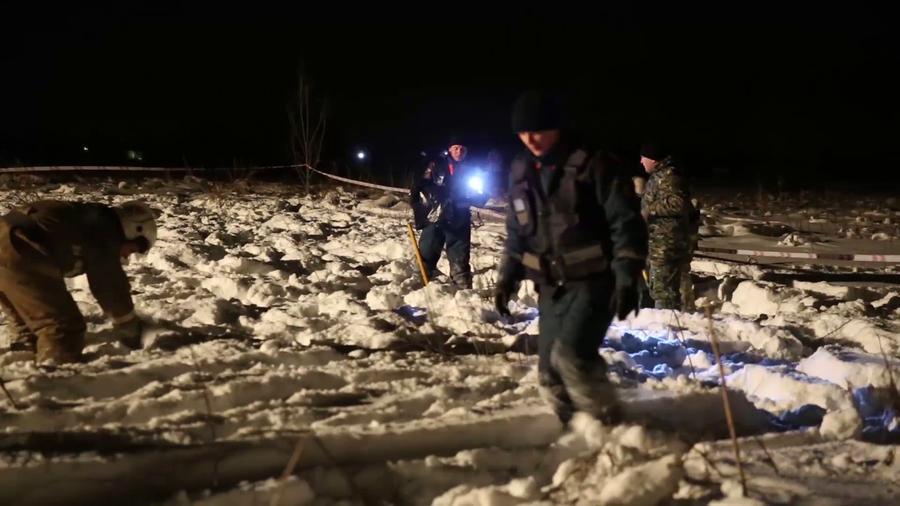 VIDEO  Imagini cu momentul prăbușirii avionului rusesc An-148. Operațiunea de căutare a continuat toată noaptea
