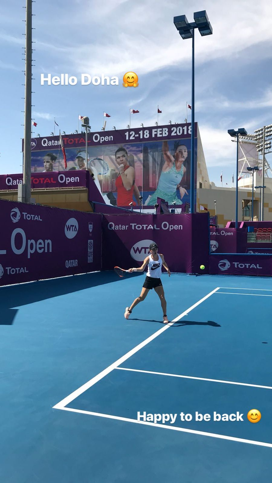 UPDATE. Simona Halep s-a decis: va juca la Doha. În turul 2 o așteaptă Makarova