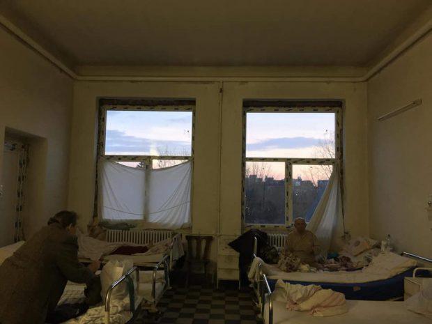 Imagini de coșmar surprinse în spitalul Victor Babeș din Timișoara