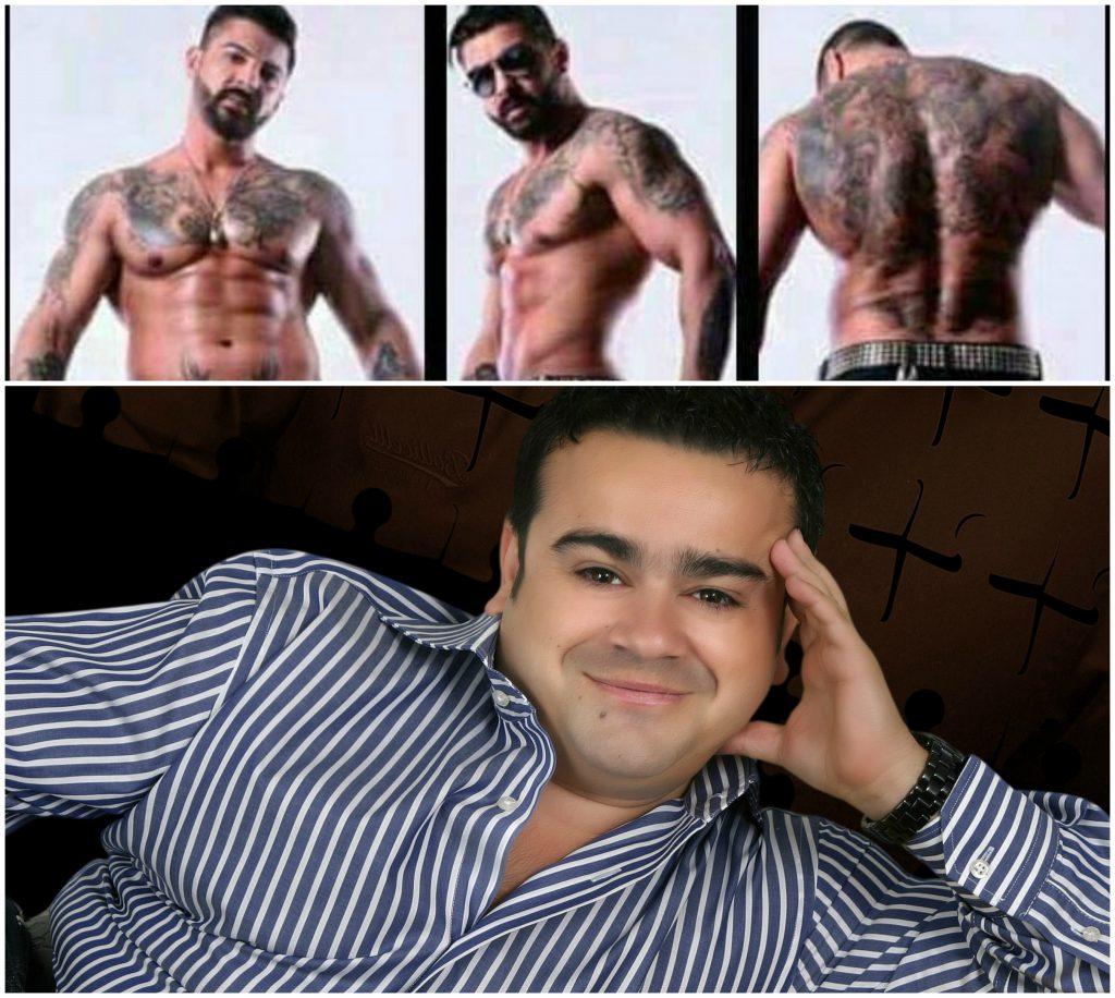 """EXCLUSIV/ """"Mărțișor"""" fără haine! Adrian Minune se pune pe dezbrăcat cu stripperii de la Taboo Boys de Ziua Femeii"""