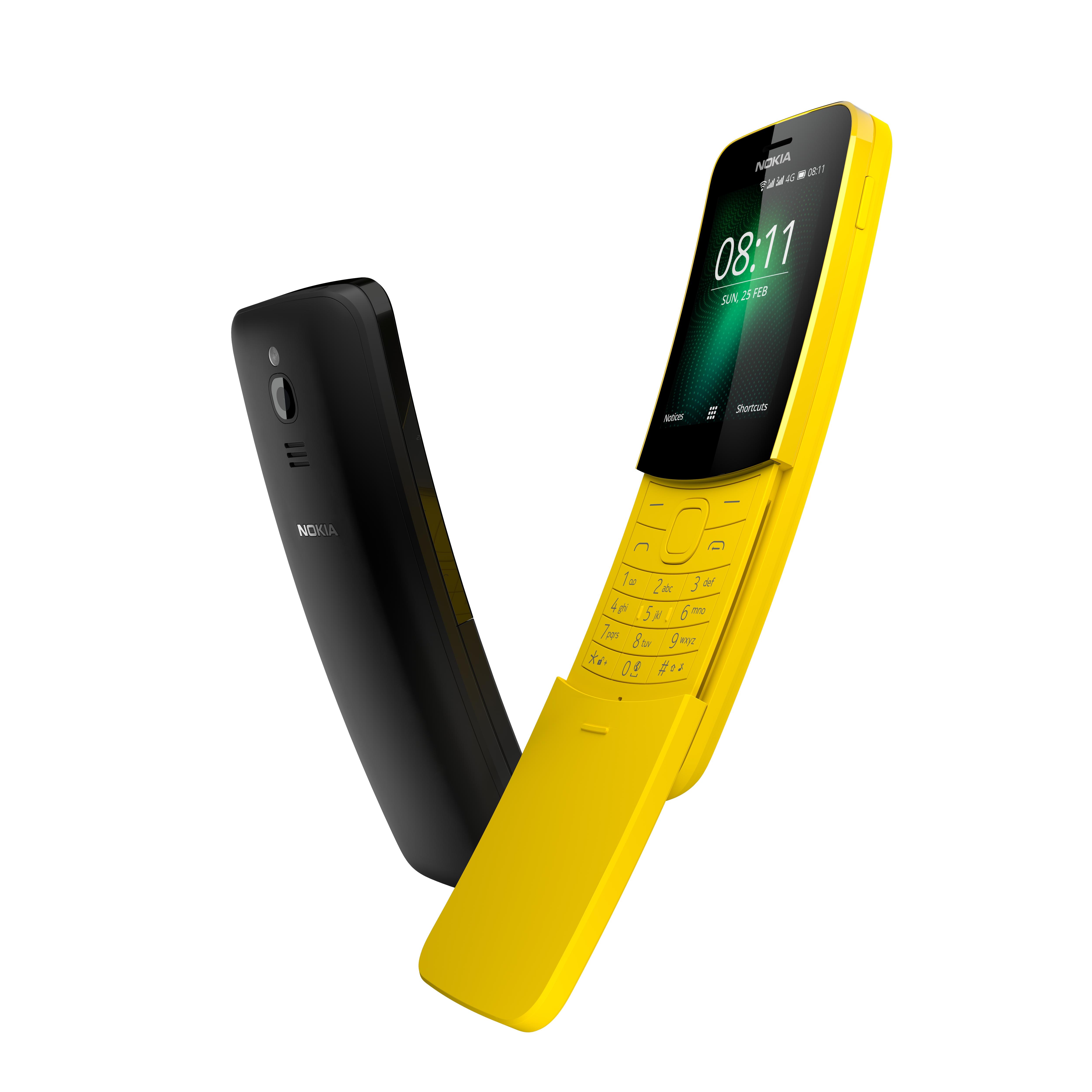 HMD relansează modelul Nokia 8810, acum cu 4G