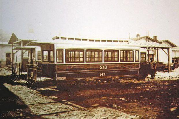 RATB își schimbă denumirea. Vagon de tramvai acoperit. Tracțiune cu cai- 1929