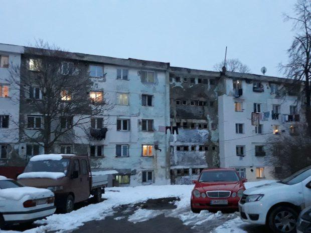 Blocul 32 din Vaslui, cu cei mai mulți cetățeni de origine din Republica Moldova luați în spațiu