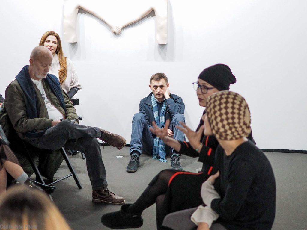 Legătura dintre Andrei Gheorghe și patroana galeriei unde i se aduce un ultim omagiu jurnalistului