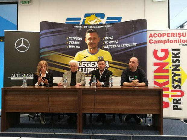 Dinamo - Steaua, în deschidere la turneul de old-boys de la Ploiești