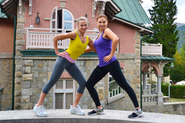 """VIDEO EXCLUSIV/Adina Buzatu vrea să-i facă o surpriză antrenoarei sale de fitness. """"Visez să-i fac cunoștință Luminiței Nicolescu cu Jane Fonda!"""""""