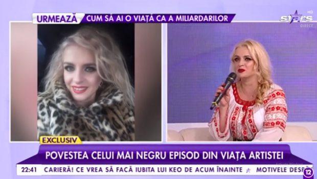 Artista de muzică populară Claudia Zamfir, sarcină cu probleme