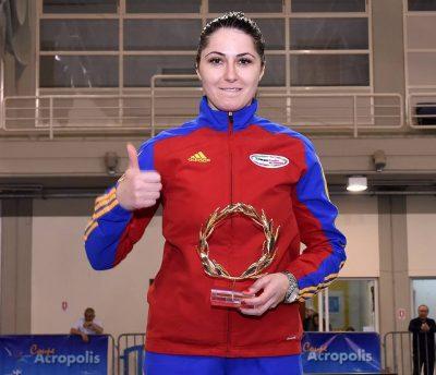 Bianca Pascu a ocupat locul al treilea la Grand Prix-ul de sabie de la Seul