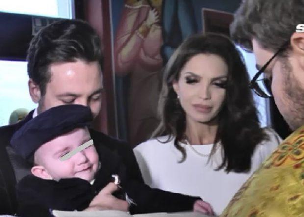 Cristina Spătar i-a botezat băiețelul Deliei Antal