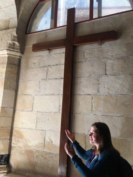 Crucea pe care a fost rastignit Iisus Mantuitorul