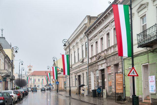 drapel ungaria sfantu gheorghe