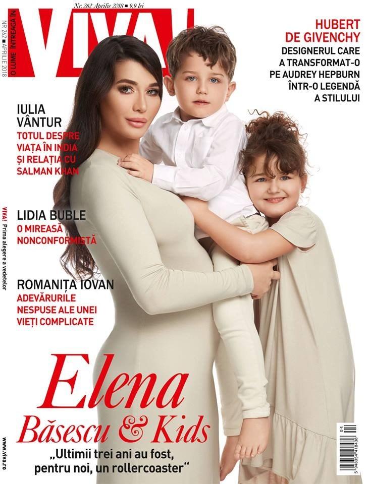 """Iulia Albu, despre apariția Elenei Băsescu pe coperta revistei Viva. """"O imagine superbă de familie"""""""