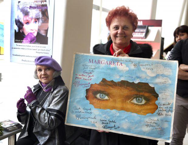 """VIDEO/ Margareta Pâslaru, în lacrimi la lansarea albumului """"Providența"""""""