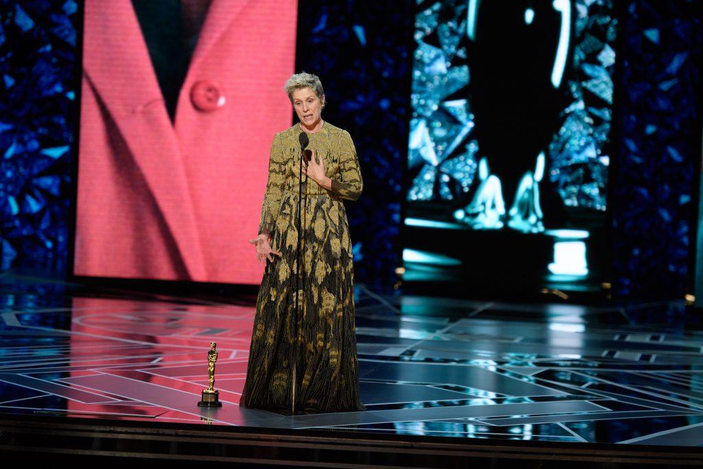 Oscarul câștigat de actrița Frances McDormand i-a fost furat