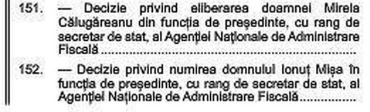 Ionuț Mișa a fost numit președinte al ANAF. Decizia, publicată în Monitorul Oficial