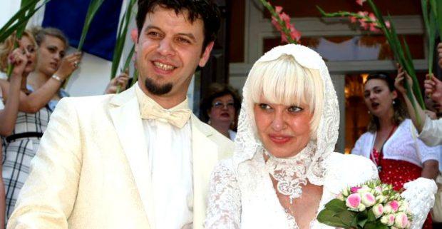 Israela Vodovoz și Liviu Arteni, la nunta lor