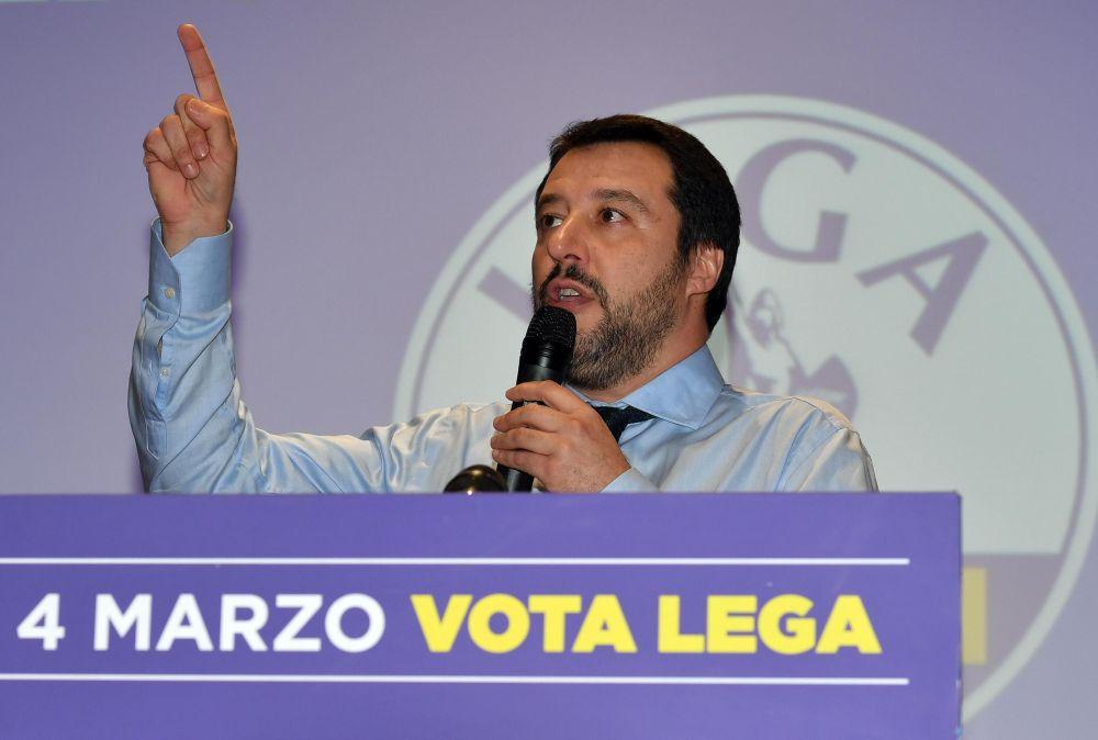 Matteo Salvini (FOTO: EPA)