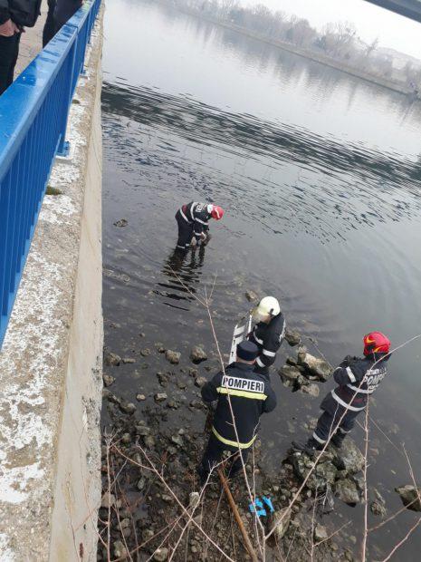O femeie, angajată a Primăriei Medgidia, s-a aruncat de pe un pod