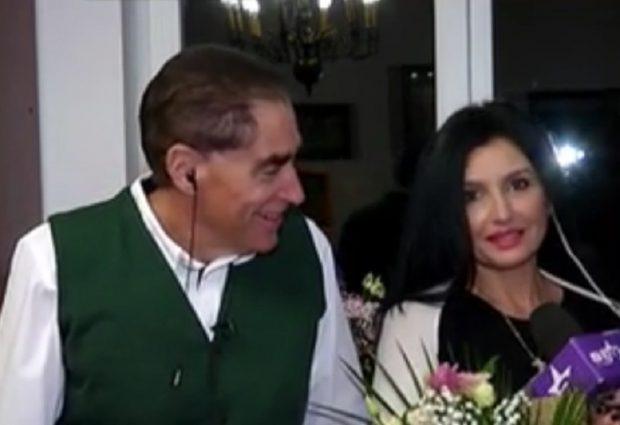 Silvia Chifiriuc și Petre Roman sunt împreună de 9 ani