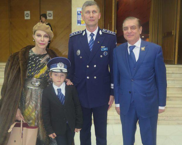 Prințul Paul și Prințesa Lia, la Muzeul Național de Artă al României, de Ziua Poliției Române
