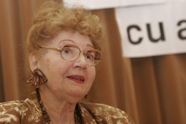 Actrița Carmen Stănescu a murit la vârsta de 92 de ani