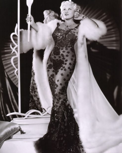 Actrița Mae West