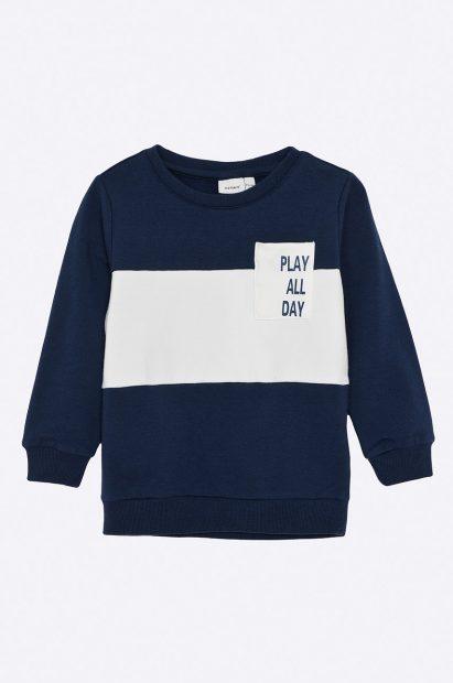 Haine noi de Paște-bluză bleumarin pentru băieți