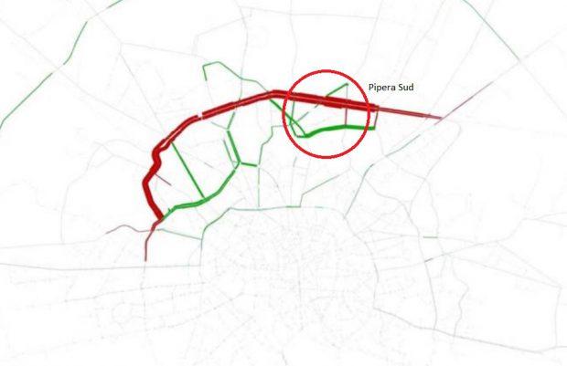 """#salvatipipera / Bulevardul """"neștiut"""" din Pipera Sud. Drumul paralel cu calea ferată București-Constanța, în stadiu de proiect de 13 ani"""