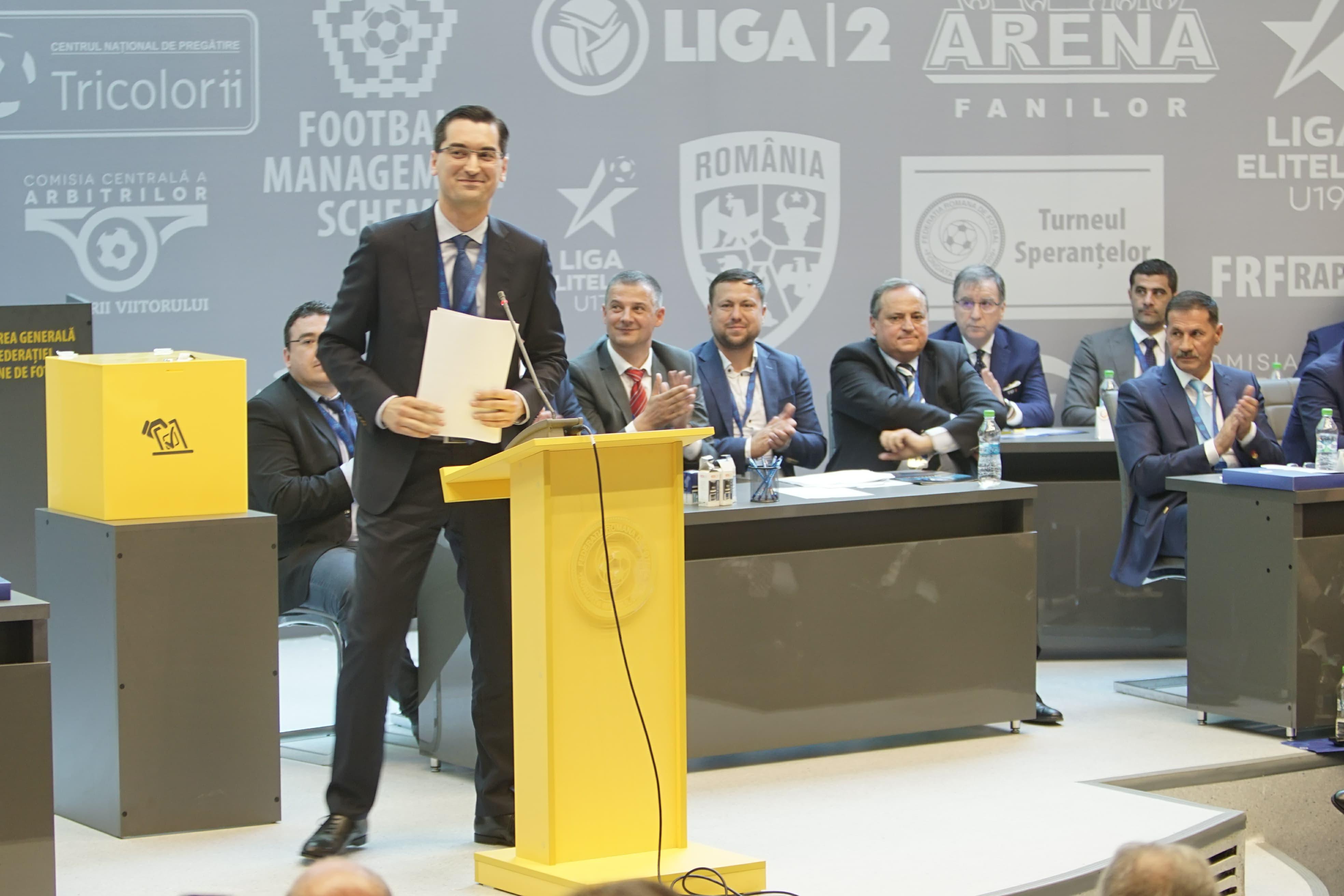 """Ce a promis Răzvan Burleanu pentru al doilea mandat în fruntea FRF: """"Aducem Supercupa Europei la București"""""""