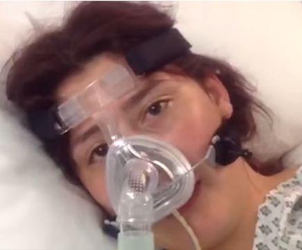 Charlotte Debieux a paralizat pentru o vreme