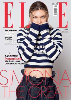 """Cea mai ascunsă dorință a Simonei Halep, dezvăluită în revista ELLE: """"Îmi doream trei centimetri în plus"""""""