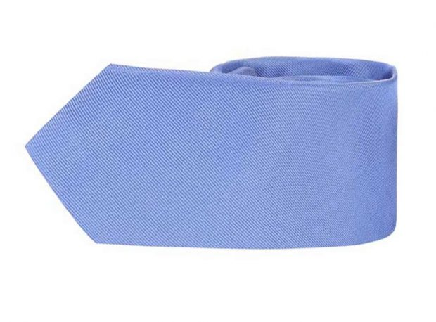 Cum să te îmbraci ca Mark Zuckerberg?-cravată albastră din mătase