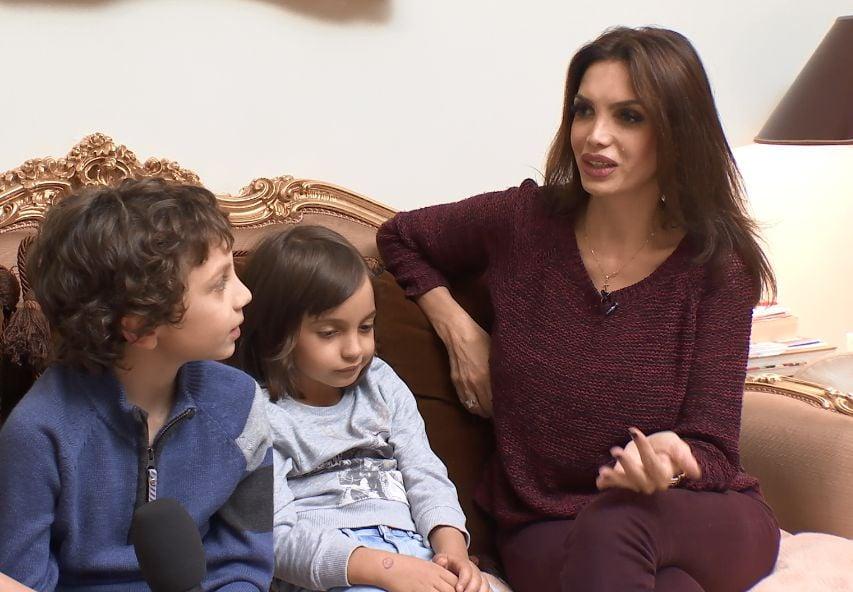"""Cristina Spătar face orice pentru copiii ei. """"Le-am luat un animal împotriva voinței tatălui lor"""""""
