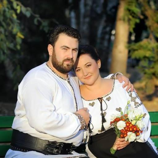 Ecaterina Ladin a fost angajata soțului ei- Ecaterina Ladin împreună cu soțul ei, Laurențiu
