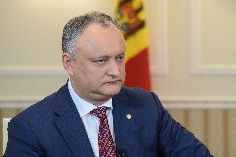 """INTERVIU/ Igor Dodon, președintele Republicii Moldova: """"Nu sunt antiromân. Sunt, categoric, antiunionist"""" - VIDEO"""