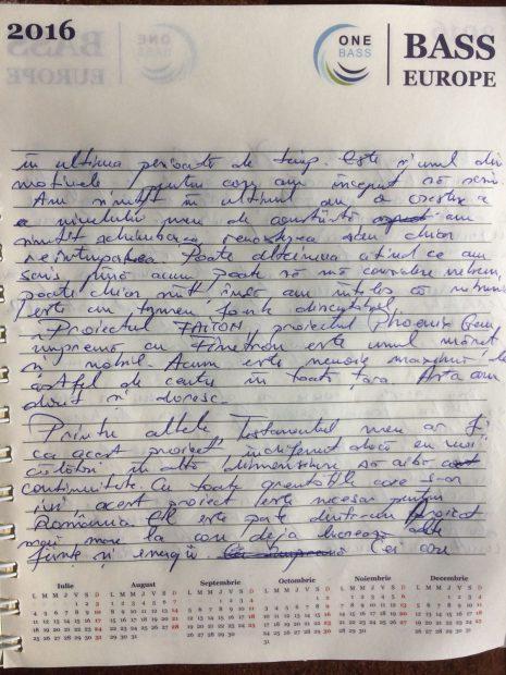 """FOTO/Jurnalul criminalului din Brașov: """"Un fel de testament"""" în care scria din 2014 despre nebunie, bani și ființe de lumină"""