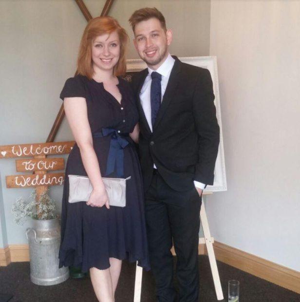 Lauren Neilly alături de viitorul soț
