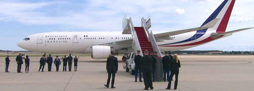 Emmanuel Macron a ajuns în Statele Unite pentru o vizită de trei zile