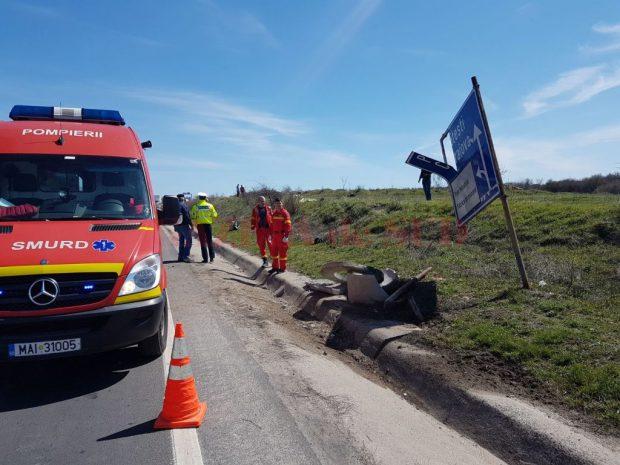 Un motociclist a fost decapitat pe Centura de Nord a Craiovei