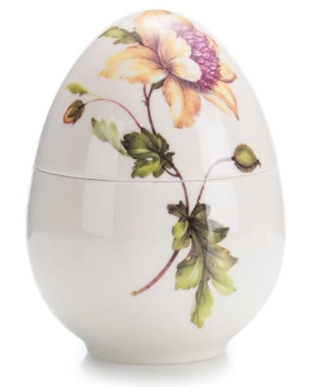 Cadouri de Paște-ou muzical din porțelan cu floare