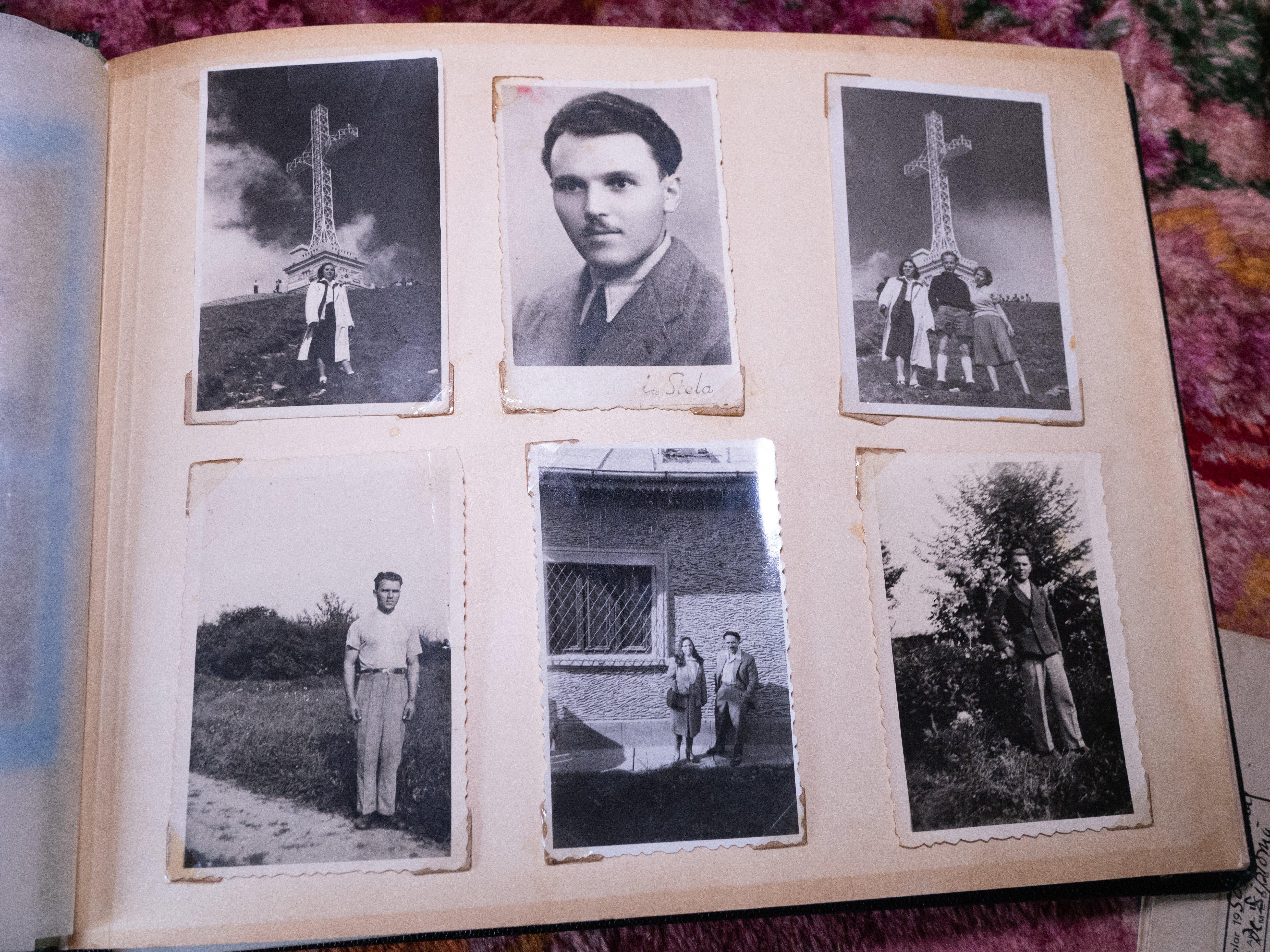 veteranul de război Ştefan Grosu, album cu fotografii