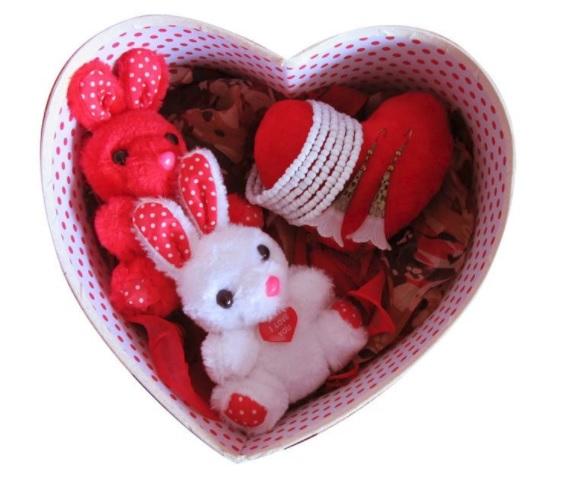 Cadouri de Paște-pachet cadou cu bijuterii și animale de pluș