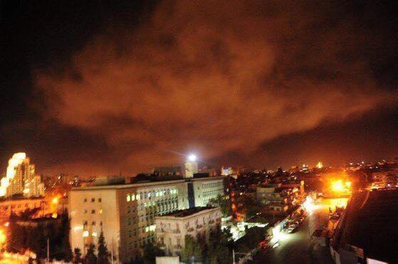 VIDEO / SUA și aliații au bombardat Siria după presupusul atac chimic