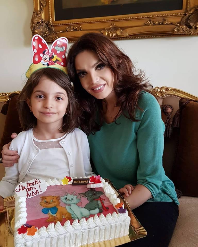 Cristina Spătar și-a aniversat fiica. Ce tort superb i-a pregătit