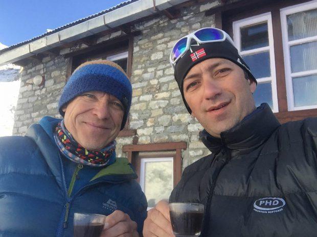 Horia Colibășanu a ajuns în prima tabără de bază de pe Everest. Alpinistul timișorean vrea să deschidă o nouă rută/ FOTO