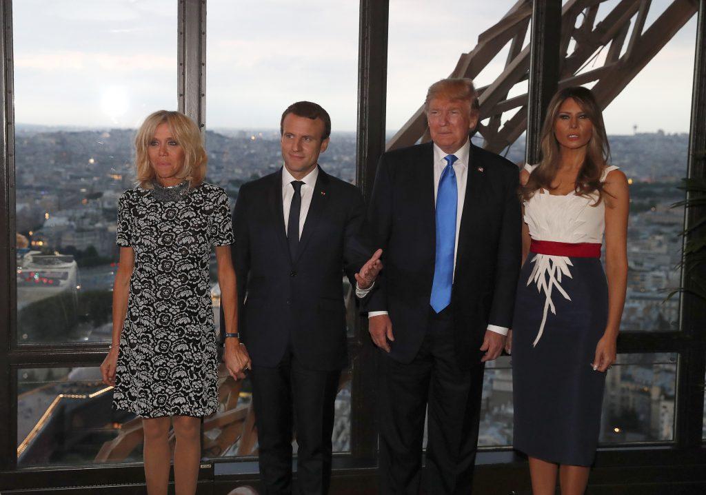 Melania Trump se pregătește pentru prima cină de stat pe care o găzduiește