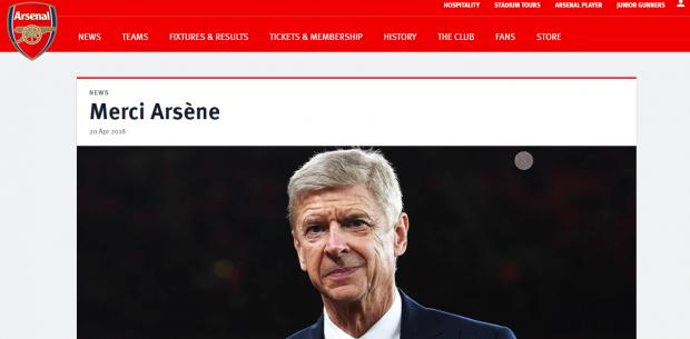 """Arsene Wenger pleacă de la Arsenal Londra după 22 de ani. Carlo Ancelotti, favorit să-i preia pe """"tunari"""""""