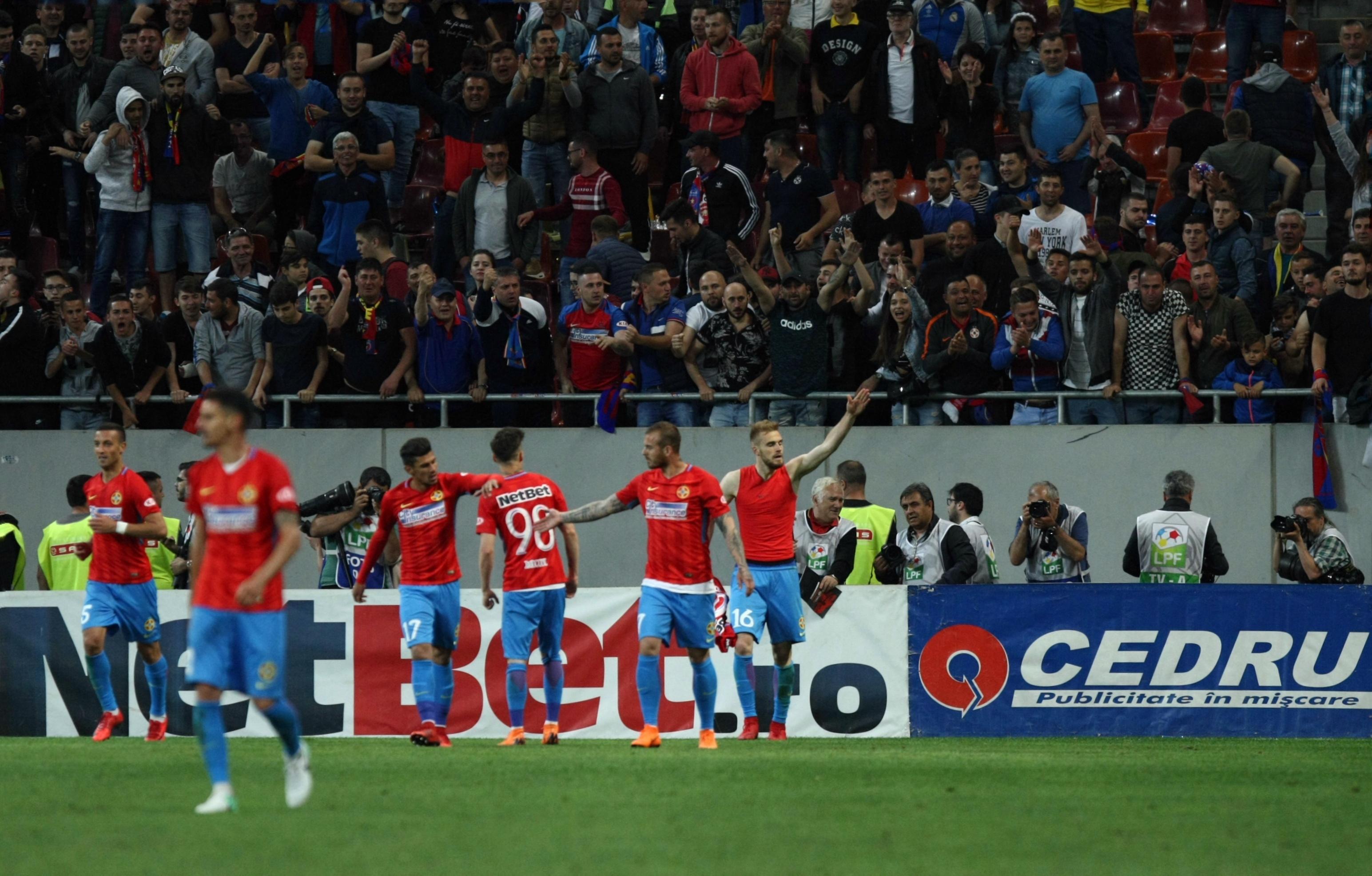 LIVE BLOG FCSB - CFR Cluj, Liga 1 la fotbal, play-off, etapa 7. Gazdele au egalat în prelungiri. Titlul se joacă